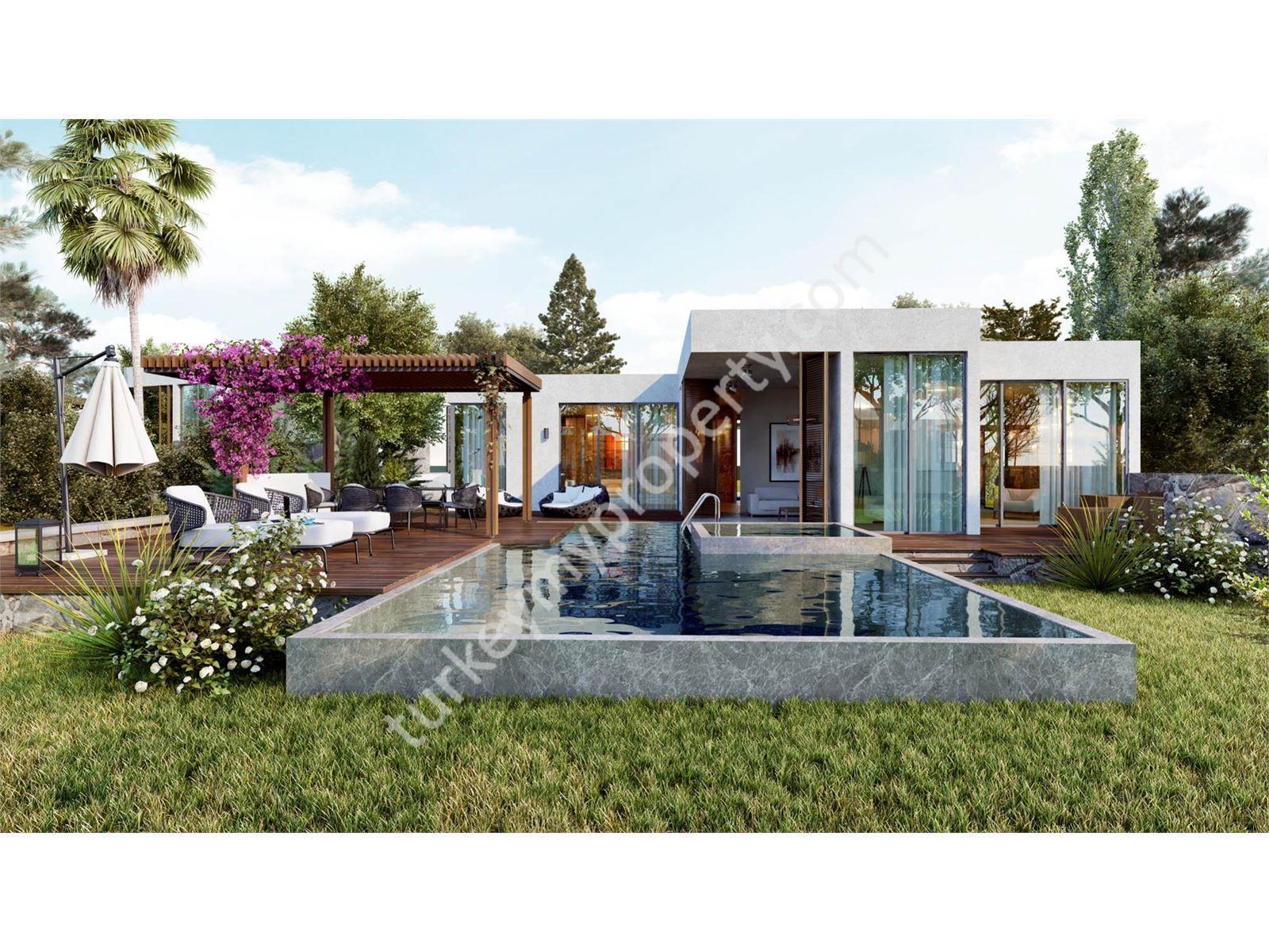 Luxury private villa for sale in Yalıkavak