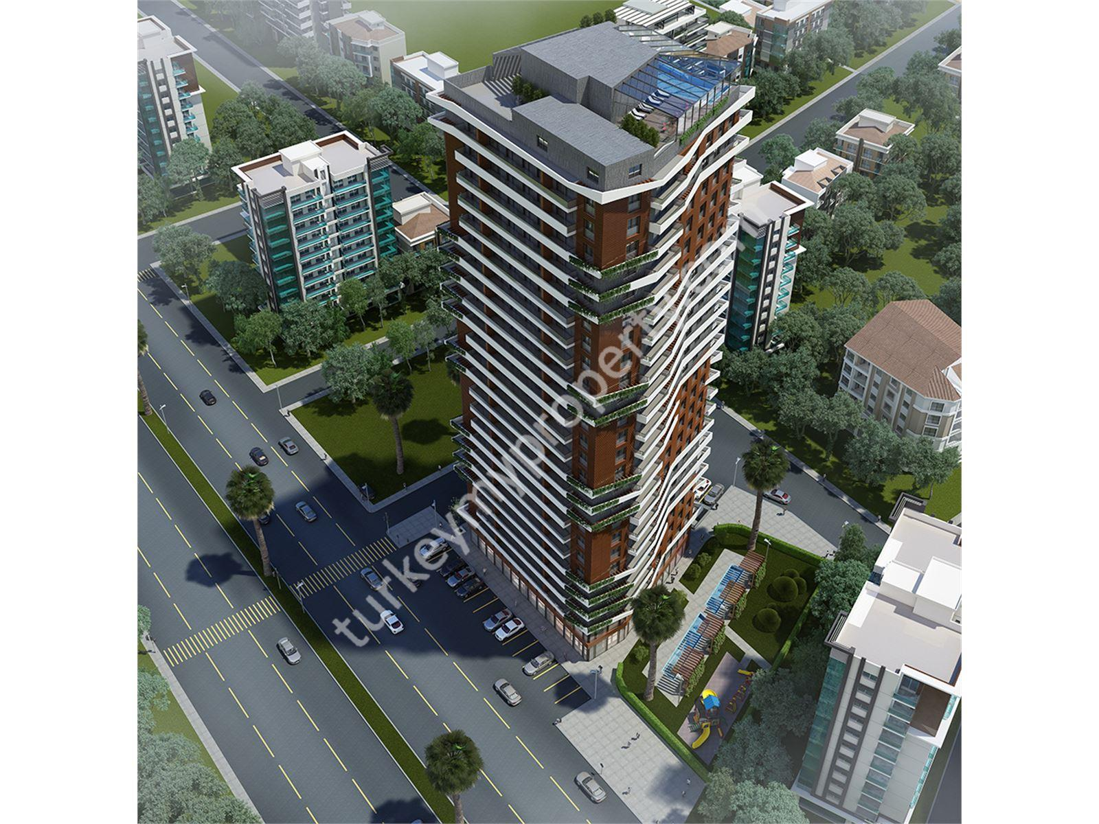 Luxury Tower Apartments in Izmir   For Sale